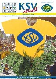 3. Jahrgang • Ausgabe 03/11 - KSV aktuell