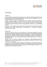 Firmenprofil - iCASUS GmbH