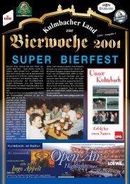 SUPER BIERFEST - Bierfestzeitung