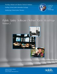 Public Safety Software-Defined Radio Roadmap, Version 2 - Noblis