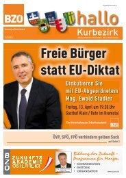 ESM entmündigt Österreich. BZÖ fordert Volksabstimmung