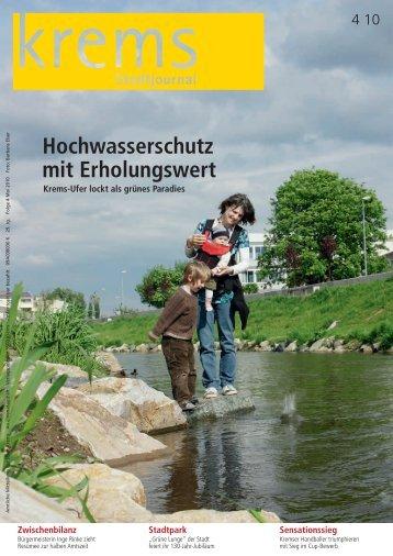 Hochwasserschutz mit Erholungswert - RiSKommunal