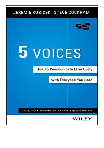 5-Voices-How-to-Communicate-Effectively