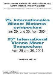 25. Internationales Wiener Motoren - Österreichischer Verein für ...