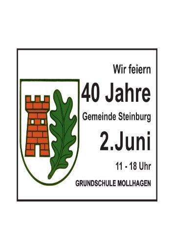 Steinburg 40 Jahr-Feier