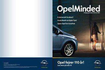 Opel fejrer 110 år!