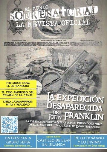 El Mundo Sobrenatural Mayo 2018 - La Expedición Desaparecida de Franklin