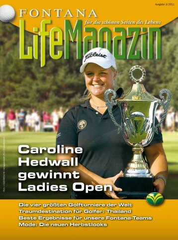 Ausgabe 03/2011 - Golfclub Fontana