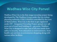 Wadhawa Wise City