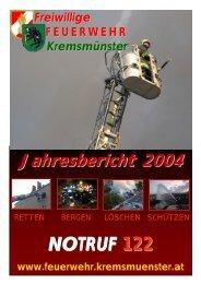 Einsätze Jahresbericht 2004 Freiwillige ... - RiS-Company