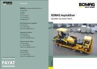 BOMAG Asphaltliner Ein kontrolliert werthaltiges Paket