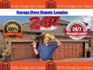Garage Door Repair Langley
