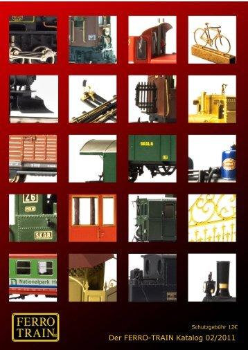 Der FERRO-TRAIN Katalog 02/2011