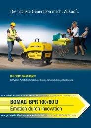 BOMAG BPR 100/80 D Flyer