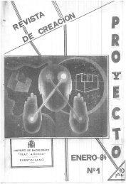PROYECTO Nº 1 - ENERO 1984