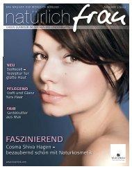 Ausgabe 01/2010 FASZINIEREND - Annemarie Börlind