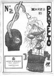 PROYECTO Nº 2 - MARZO 1985