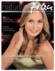 Ausgabe 01/2011 Erlebnis Naturkosmetik - Annemarie Börlind