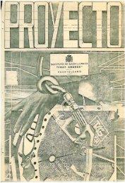 PROYECTO Nº 3 - JUNIO 1986