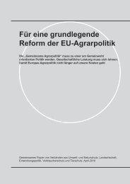 Für eine grundlegende Reform der EU-Agrarpolitik - BUND für ...