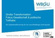 (NGOs), Aktivisten, Vordenker, Protestbewegungen etc. Bottom-up