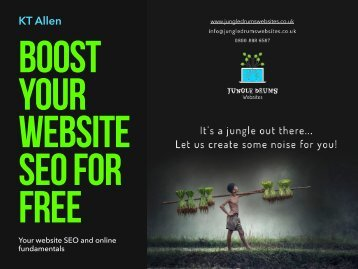 Boost your website SEO for free