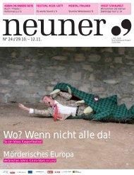 Neuner, Ausgabe 24: 29. Oktober - Linz