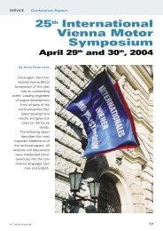 25th International Vienna Motor Symposium - Österreichischer ...