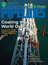 April 2012 - North American Oil & Gas Pipelines