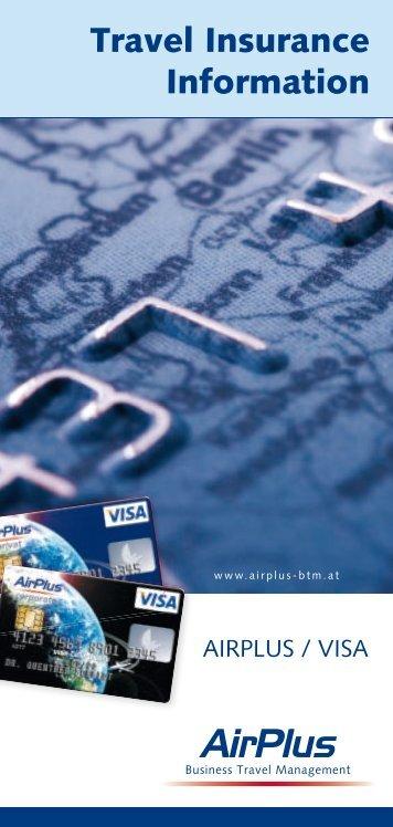 Travel Insurance Information - AirPlus
