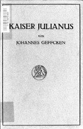 Kaiser Julianus - Scholars Portal