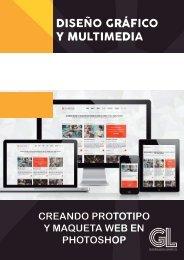 CREANDO PROTOTIPO  Y MAQUETA WEB EN PHOTOSHOP