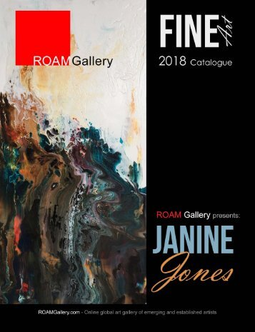 Janine Jones - Fine Art Catalogue 2018