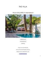 Villa Kallaris - Marrakech