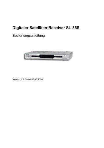 Digitaler Satelliten-Receiver SL-35S - Boca