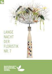 LANGE NACHT DER FLORISTIK NR. 7 - Bayerische Blumen Zentrale