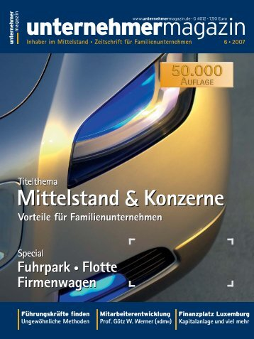 Ungewöhnliche Methoden Fuhrpark • Flotte Firmenwagen Special ...
