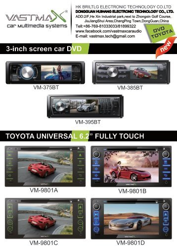 TOYOTA Universal DVD 6.2'' & 6.95''.compressed