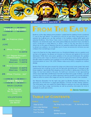 The Compass, Volume 1, Issue 6, June 2018.compressed