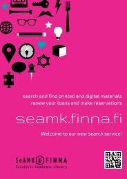 SeAMK-Finna in English
