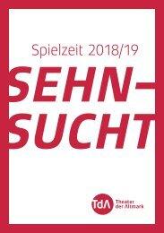 TdA Spielzeitheft 2018/19