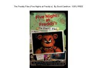 The Freddy Files (Five Nights At Freddy's) by Scholastic and Scott Cawthon