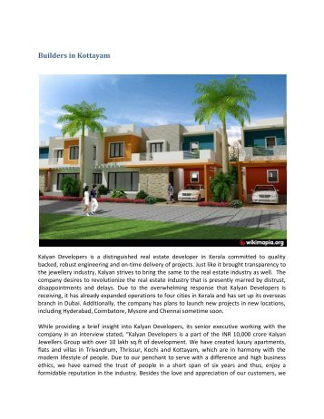 Builders in Kottayam
