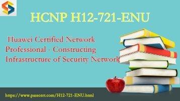H12-721-ENU HCNP-Security  exam dumps