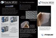 Download Brochure -  Atrium Medical Corporation