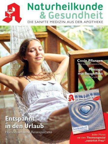 """Leseprobe """"Naturheilkunde & Gesundheit"""" Juni 2018"""
