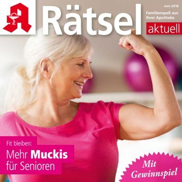 "Leseprobe ""Rätsel-aktuell"" Juni 2018"