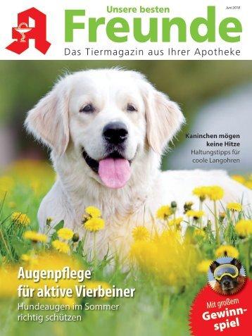 """Leseprobe """"Unsere besten Freunde"""" Juni 2018"""