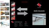 Mobile Glaswände - R. Bischoff GmbH + Co. KG