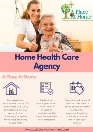 Professional Senior Assisted Living Services In Omaha